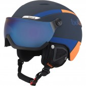 BYOND VISOR navy/orange